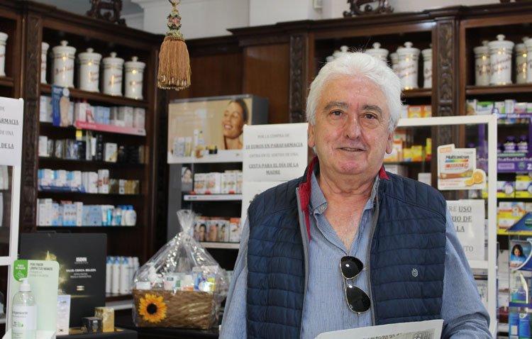 Juan María Ceballos, el farmacéutico extremeño que se ganó un hueco en el día a día de los utreranos