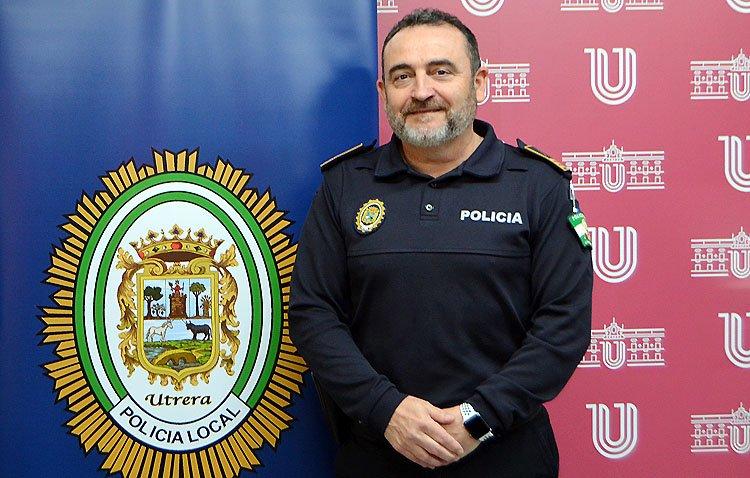 El jefe de la Policía Local de Utrera dice adiós al cargo tras cuatro años al frente de la institución