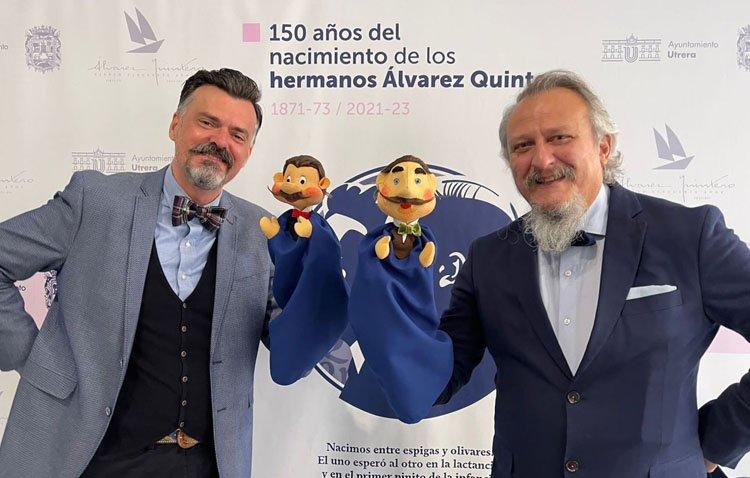 Los Álvarez Quintero se encuentran este jueves con los niños de Utrera de la mano de 'Peneque el valiente'