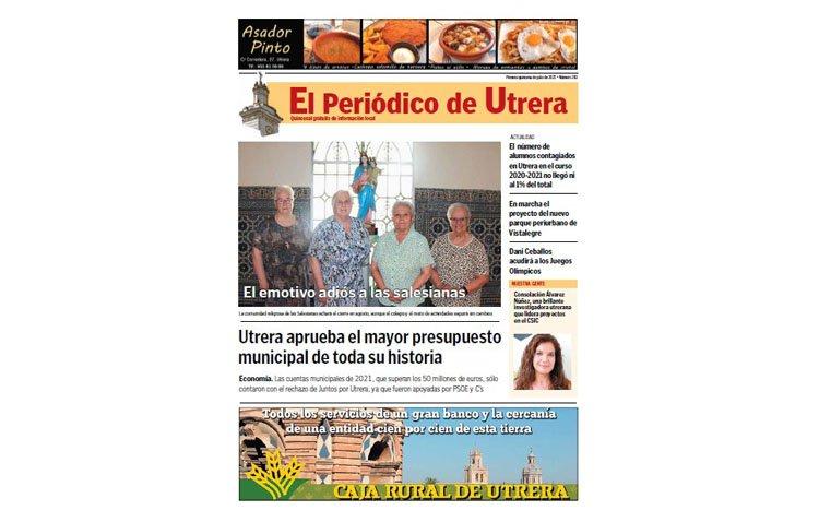 El repaso por toda la actualidad local, en 'El Periódico de Utrera'