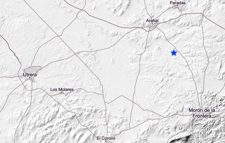Registrado un nuevo terremoto a pocos kilómetros de Utrera