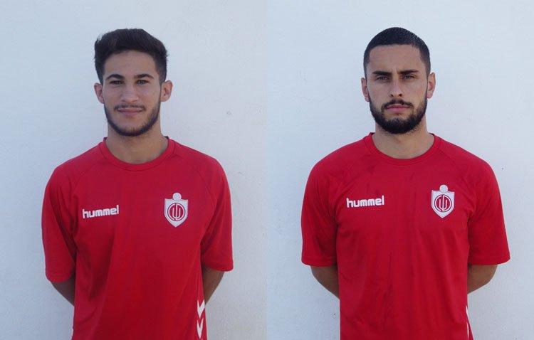 Manu Jiménez Y Diego García, nuevos fichajes del Club Deportivo Utrera