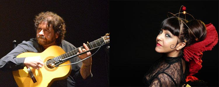 Los artistas utreranos Maui y Antonio Moya, presentes en el prestigioso festival 'Flamenco on fire'