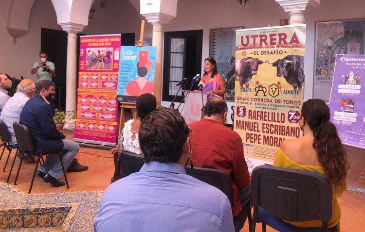 Un parque de atracciones, flamenco, conciertos y toros para comenzar el mes de septiembre en Utrera