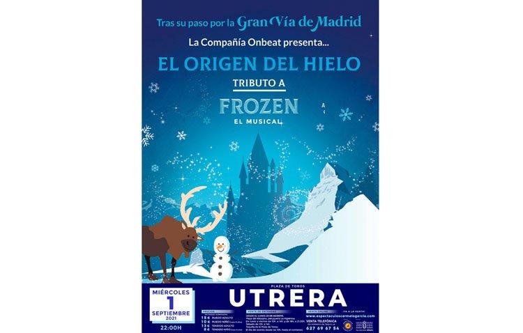 El musical de 'Frozen' inaugura este miércoles en Utrera el ciclo de 'Conciertos en el albero'