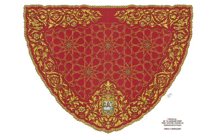 El proyecto de confección del nuevo manto para la patrona de Utrera se extiende a numerosos rincones de la ciudad