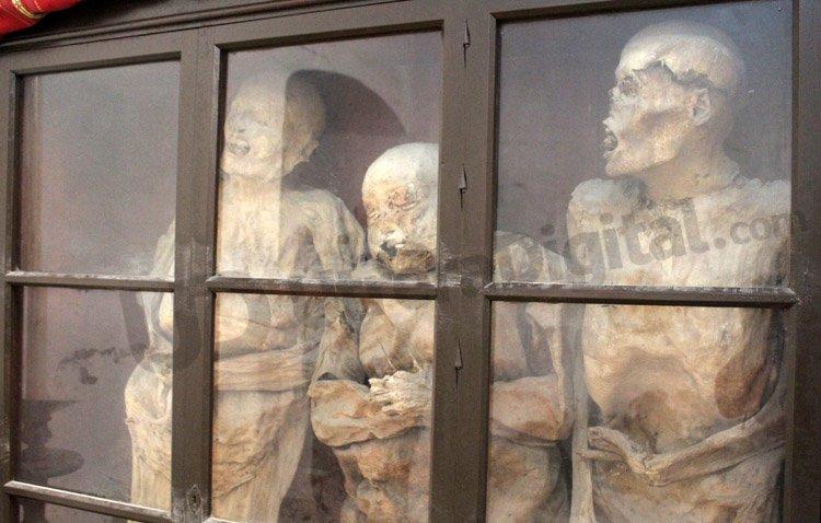 La historia de las famosas momias de Santiago, al descubierto