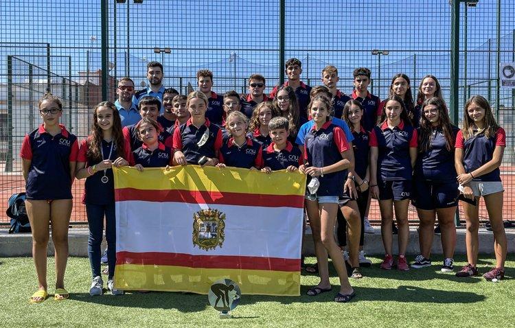 El Club Natación Utrera conquista el XVI trofeo `Virgen de Gracia´ de Carmona