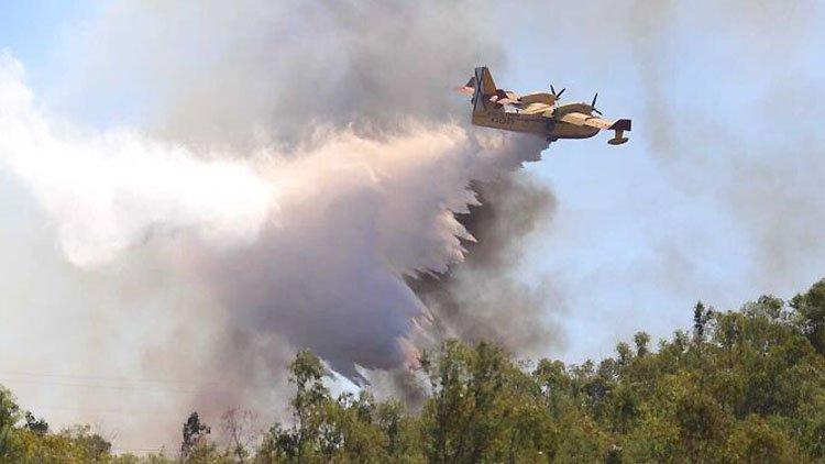 Utrera, punto estratégico en la lucha contra el gran incendio de la provincia de Málaga [VÍDEO]