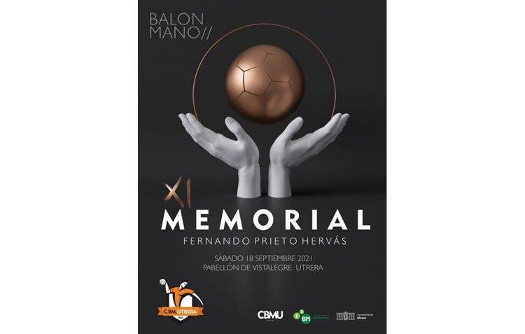El Club Balonmano Utrera celebra el XI Memorial Fernando Prieto Hervás