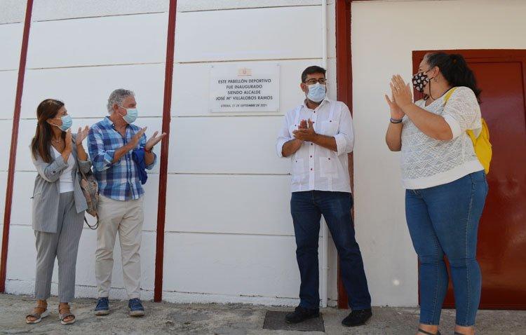 Utrera gana un nuevo espacio deportivo con la rehabilitación del gimnasio del colegio Coca de la Piñera