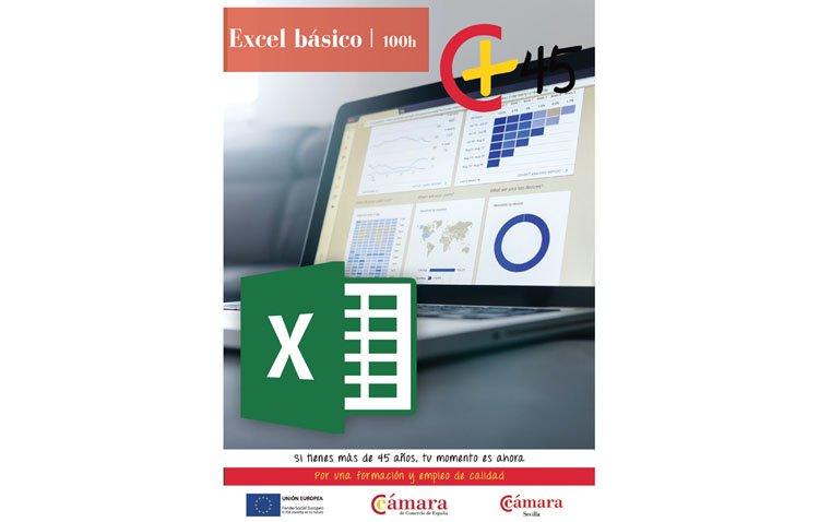 La Cámara de Comercio de Sevilla organiza un curso de Excel básico en Utrera para mayores de 45 años