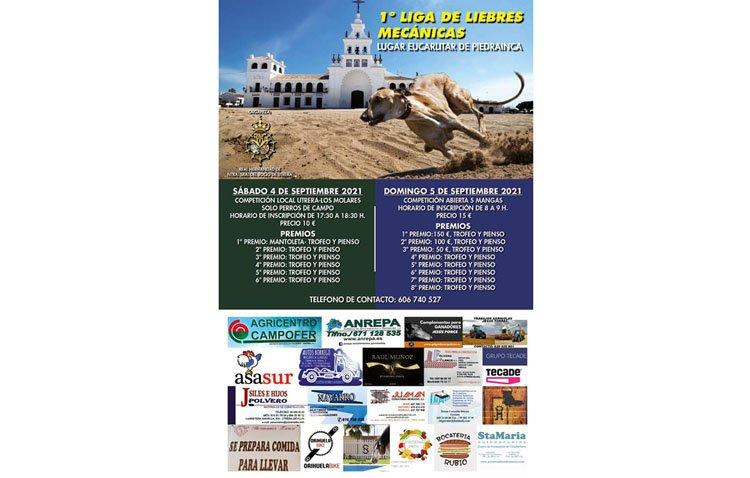 La hermandad del Rocío organiza una liga de liebres mecánicas