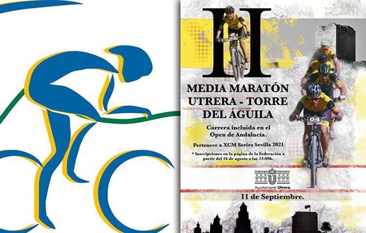 El ciclismo utrerano se prepara para celebrar la media maratón Utrera- Torre del Águila