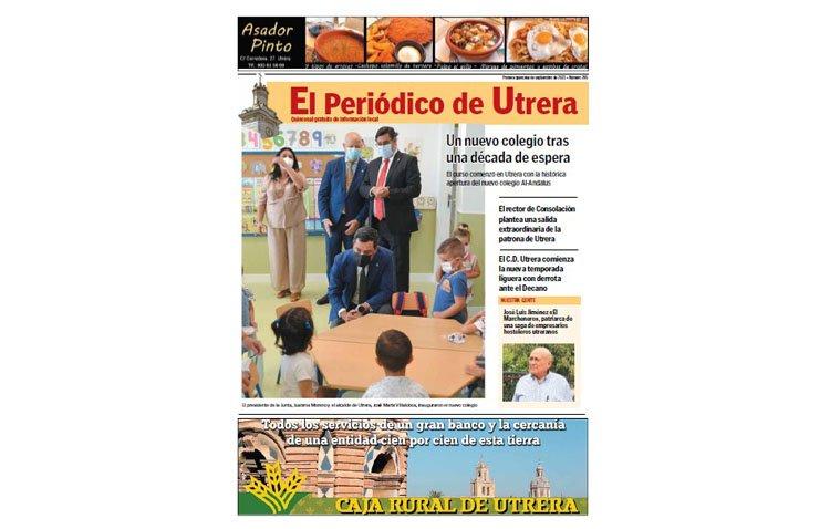 La histórica apertura de las nuevas instalaciones del colegio Al-Andalus, protagonista de 'El Periódico de Utrera'