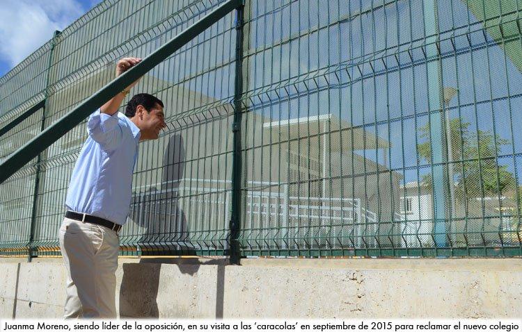 El presidente de la Junta de Andalucía inaugurará este viernes en Utrera el nuevo colegio Al-Andalus