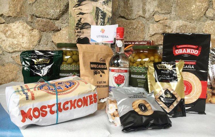 Los productos típicos de Utrera conquistan el encuentro nacional de 'Pueblos mágicos' de España