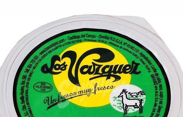 El lote de queso fresco con listeria, vendido en El Palmar de Troya