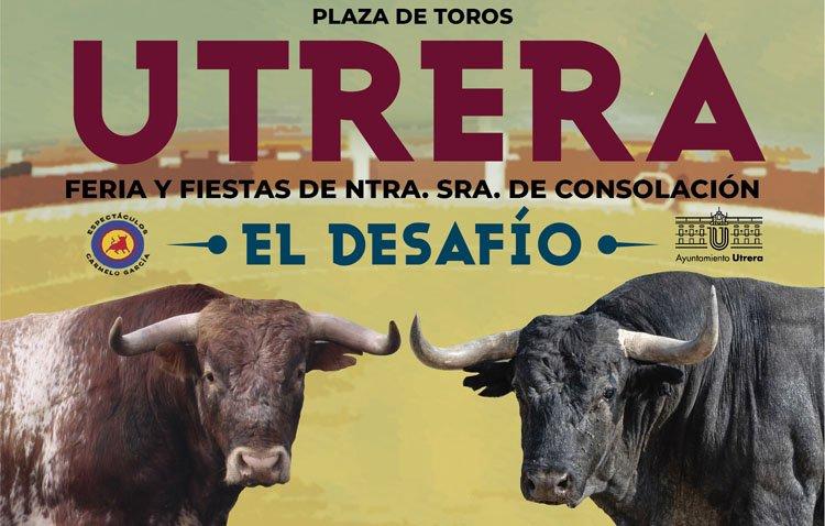 El 'desafío' taurino de las ganaderías Miura y Adolfo Martín llega a Utrera con Rafaelillo, Manuel Escribano y Pepe Moral
