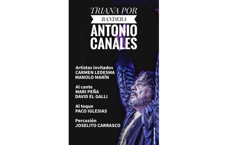 Antonio Canales lleva este martes a 'Triana por bandera' con su espectáculo en el castillo de Utrera