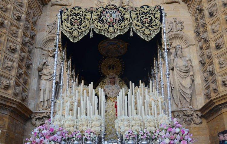 La hermandad de la Quinta Angustia propone una procesión extraordinaria con la Virgen de los Ángeles en Utrera para este otoño