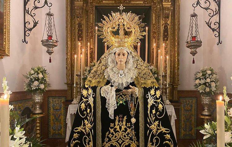 La Virgen de los Dolores de Los Molares saldrá en procesión extraordinaria el 26 de septiembre
