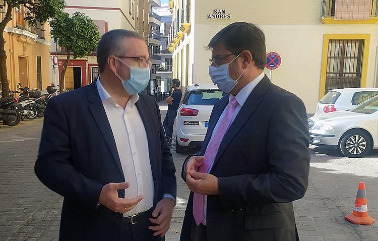 Los alcaldes de Utrera y Los Palacios, «decepcionados» por la respuesta de la Junta de Andalucía ante el desdoble de la A-362