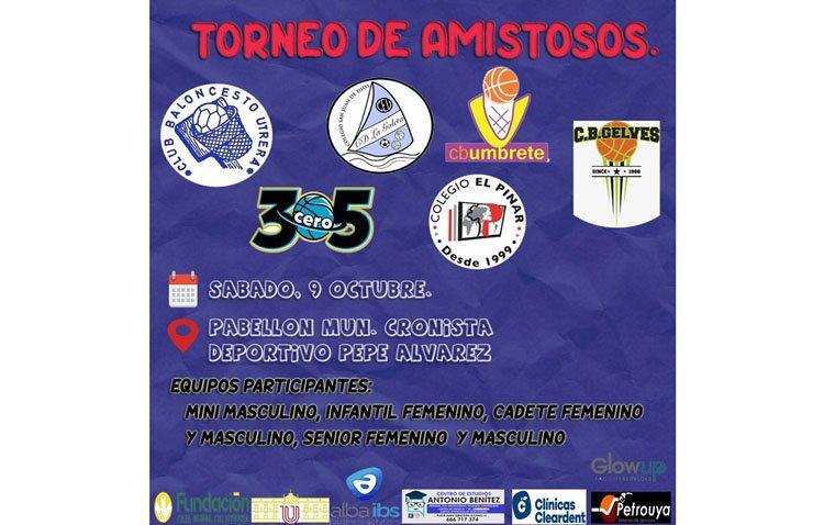 Fiesta del baloncesto este sábado en Utrera