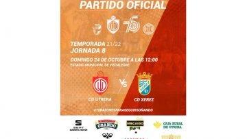 C.D. UTRERA- XEREZ C.D.: Ambas escuadras vuelven a medirse después de una temporada sin hacerlo