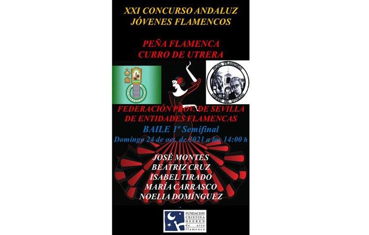 El concurso andaluz de jóvenes flamencos hace parada en Utrera