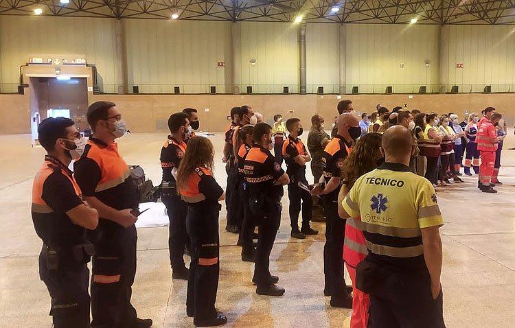 Protección Civil de Utrera, presente en la Feria Internacional de Rescate, Auxilio y Emergencias