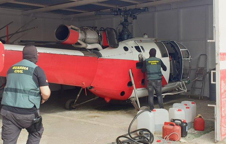Golpe de la Guardia Civil al narcotráfico aéreo con una macrooperación que alcanza a Utrera