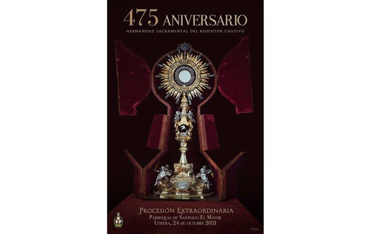 Un domingo histórico en Utrera con la procesión extraordinaria de la custodia de Santiago