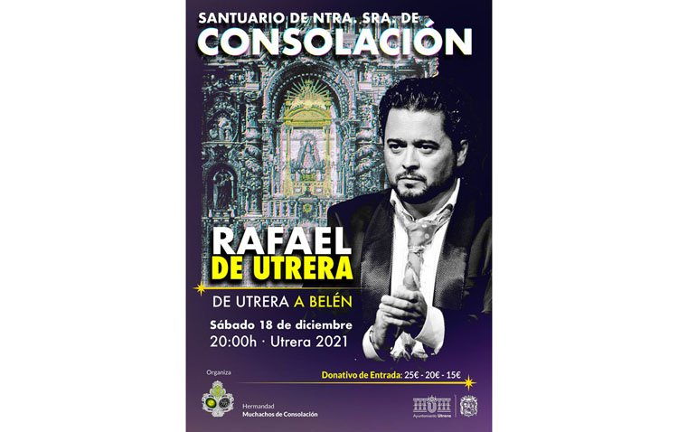 El recital navideño de Rafael de Utrera en Consolación pone sus entradas a la venta