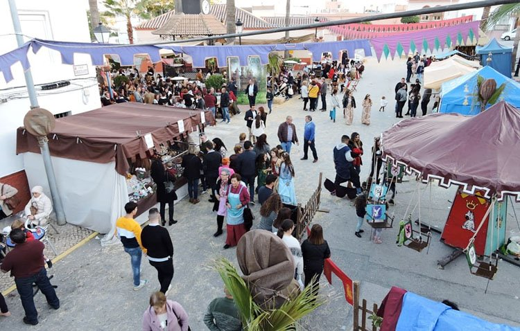 Fin de semana de mercado medieval en El Palmar de Troya