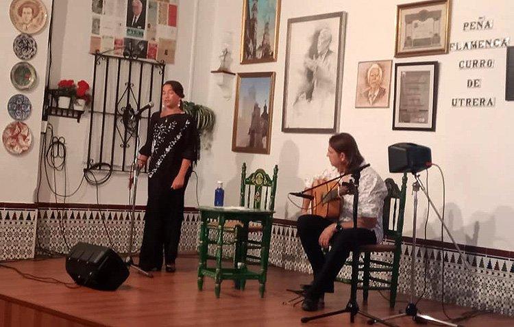 Utrera, presente en el circuito andaluz de peñas flamencas