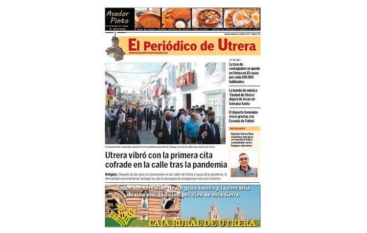 El regreso de las procesiones a las calles, protagonista de 'El Periódico de Utrera'
