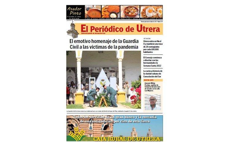Un completo repaso por la actualidad de la ciudad, en las páginas de 'El Periódico de Utrera'
