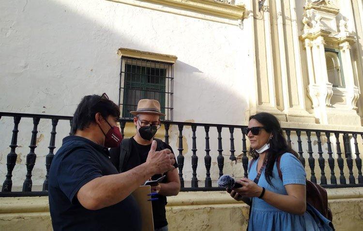La tradición campanera y el patrimonio de Utrera enamoran a una expedición de periodistas especializados en turismo