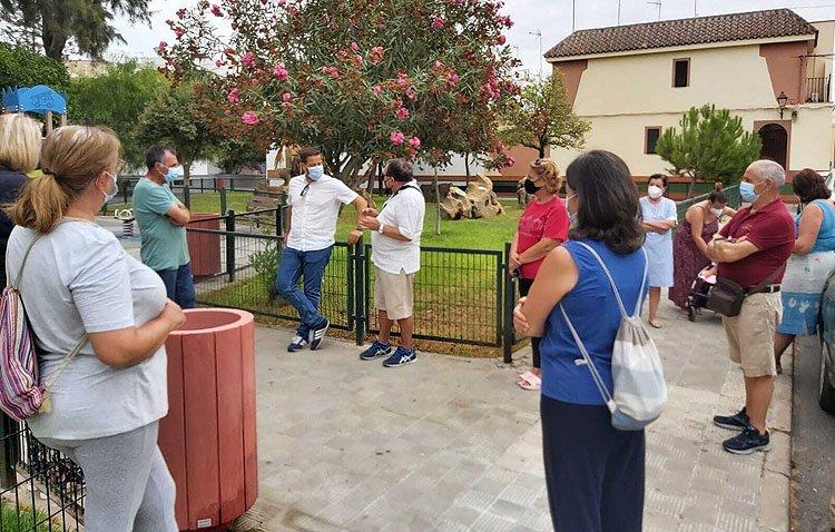 Un programa de atención a las barriadas de Utrera atenderá las demandas vecinales